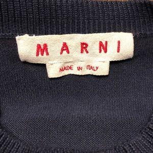 Nice!! MARNI Navy Blue Sweater sz 32 (appx 2 US)